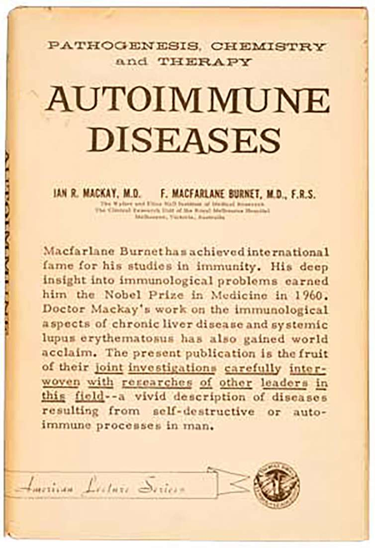 Cover of a book on Autoimmune disease.